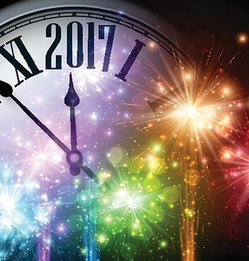 快樂迎接2017!因為有你們,2017會更加精彩!